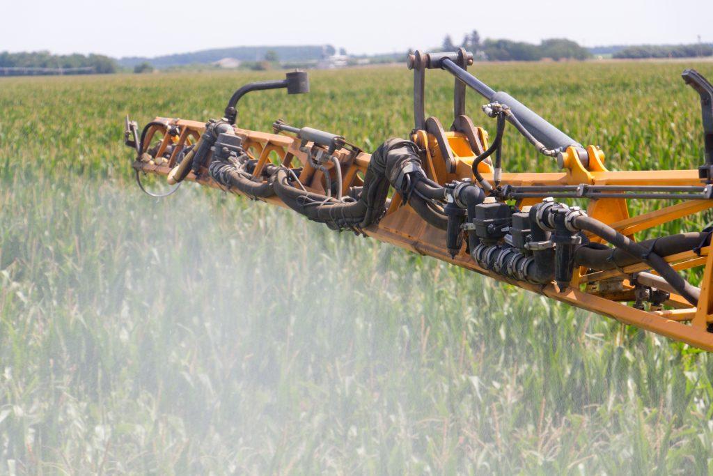 Corn Spraying